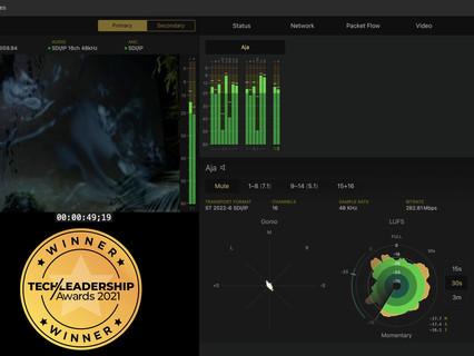 Bridge Technologies wins tech leadership's 'Best Production Technology' award