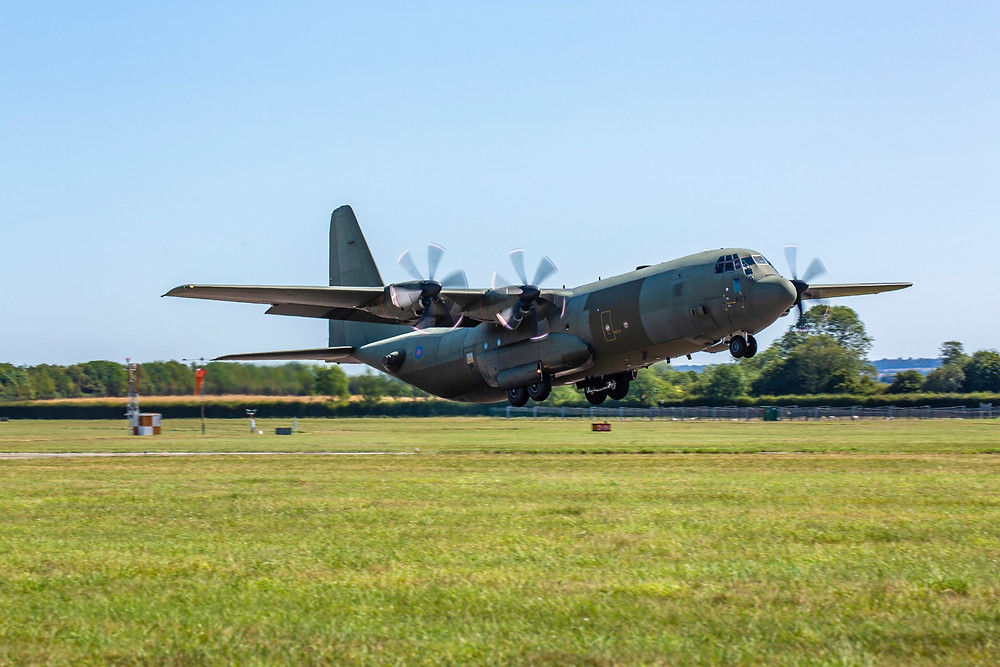 Marshall Aerospace and Defence Group announces first C-130J with new centre wing returning to RAF