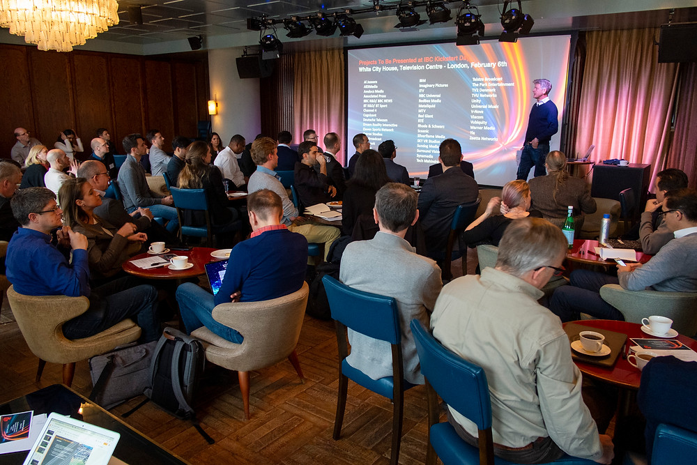 IBC Accelerator 2020 Challenges were originally pitched at Kickstart Day in London, in February