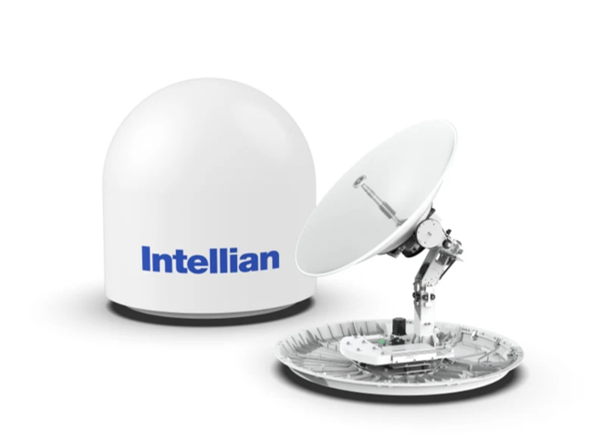 Intellian doubles down with advanced new 1 metre dual-band maritime VSAT antenna