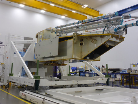 Airbus's Biomass, their forest-sensing satellite's structural model now ready for test campaign