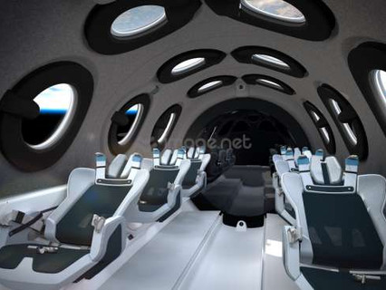 Virgin Galactic reveals SpaceShipTwo cabin interior