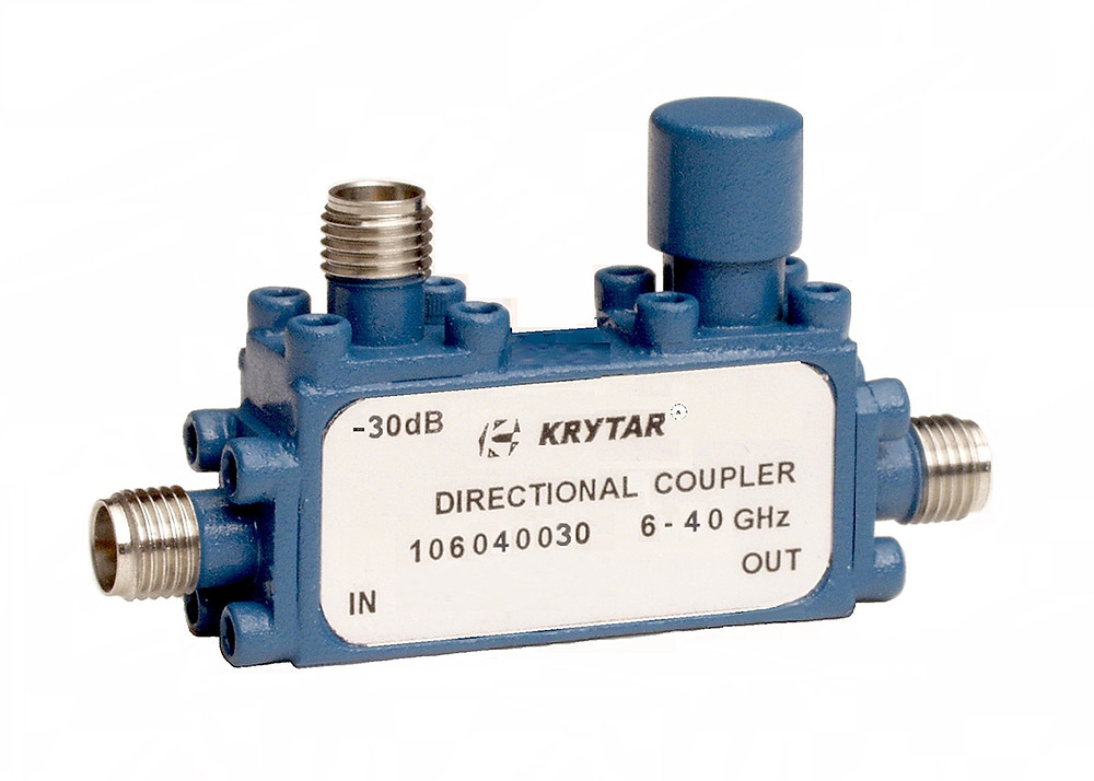 KRYTAR announces new directional coupler with 30 dB coupling over the 6 to 40 GHz