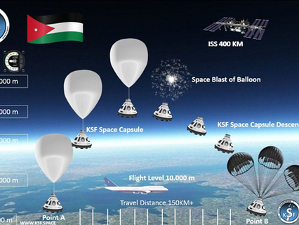 Jordan the 1st across MENA to send living bacteria to space with KSF Space