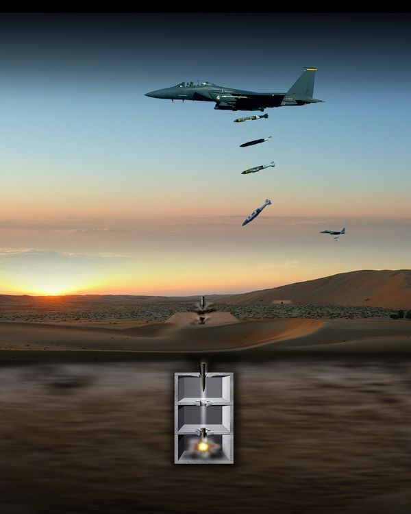 Northrop Grumman awarded $110 million for US Air Force hard target void sensing fuze
