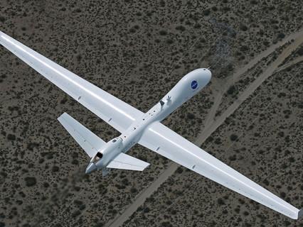 GA-ASI flies SkyGuardian in So Cal NAS as part of NASA demonstration illustrating safety and utility