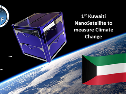 Kuwait 1st across GCC to launch NanoSatellite to track Climate Change & UV Radiation with KSF Space