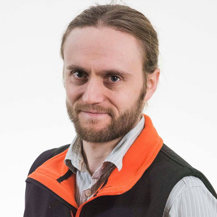 David Noake, head of design at Vert