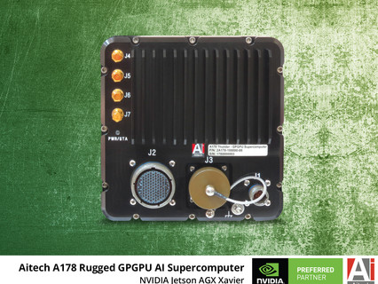 Aitech's rugged GPGPU AI supercomputer now offers quicker processing of critical functions