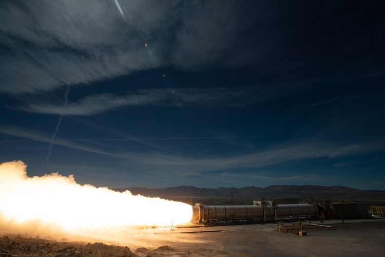 NASA and Northrop Grumman successfully conducted a full-scale static fire test of NASA's Space Launch System (SLS) rocket motor, known as Flight Support Booster (FSB-1), in Promontory, Utah, on Sep. 2. During the test, the 154-foot-long, five-segment rocket motor fired for just over two minutes, producing 3.6 million pounds of thrust. Two SLS boosters will provide more than 75 percent of the initial thrust for an SLS launch for Artemis missions.