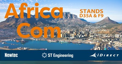 Experience AfricaCom 2019 with ST Engineering iDirect