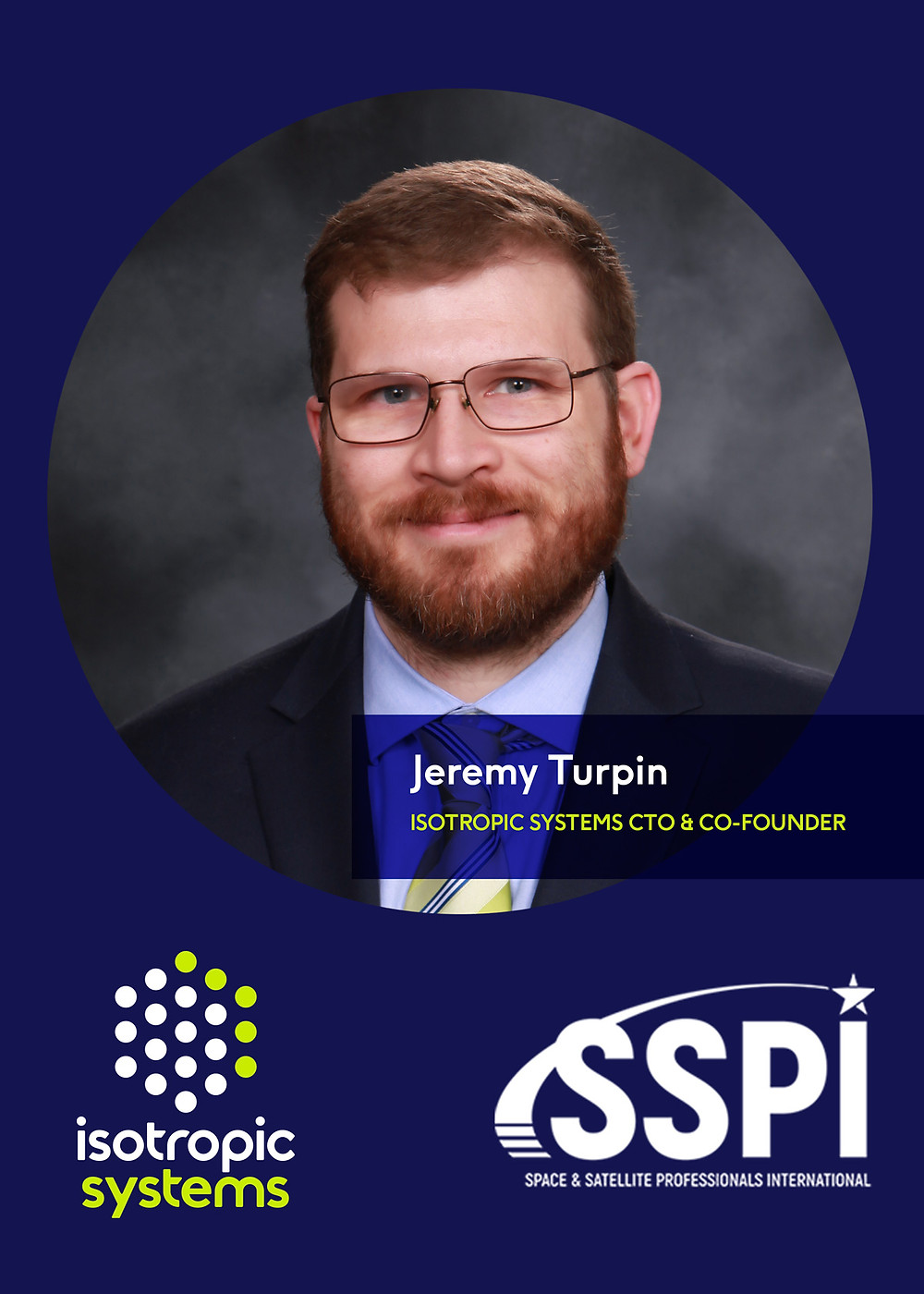 Isotropic Systems CTO and co-founder Jeremy Turpin named to SSPI Board of Directors
