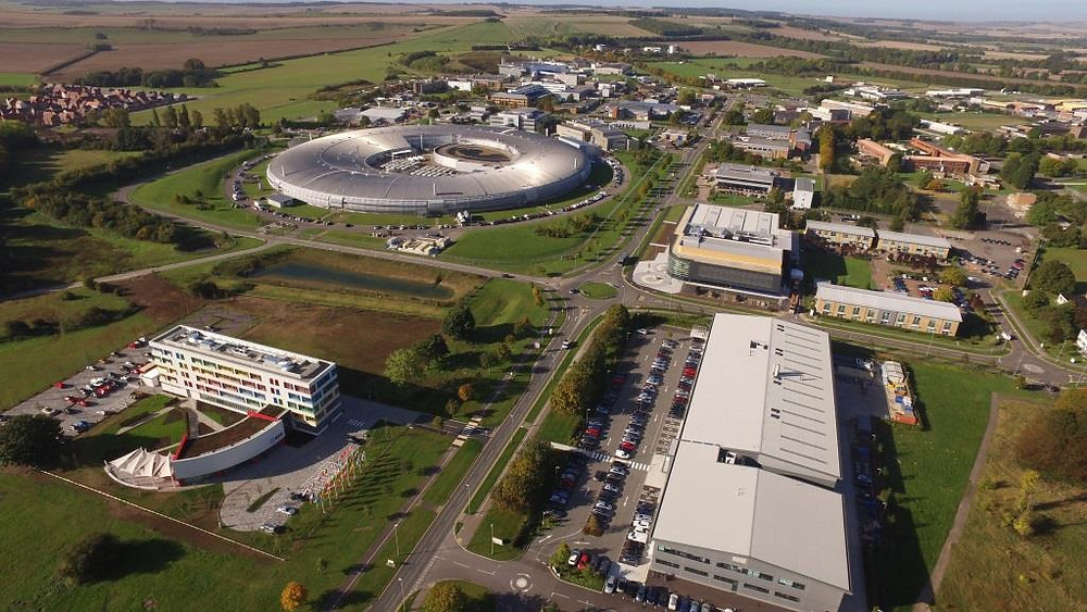 Aerial of the Harwell Space Campus in Oxford. Photo credit: Harwell Space Campus