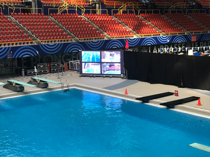Dejero solves latency challenges of National Diving Federation's virtual competitions