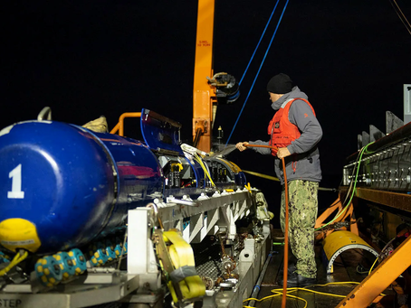 General Dynamics Mission Systems wins $72.8M contract to retrofit Knifefish mine countermeasure UUVs