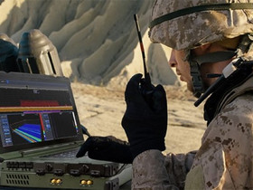 Outdoor real-time spectrum analyser with 245MHz RTBW and MIL certification