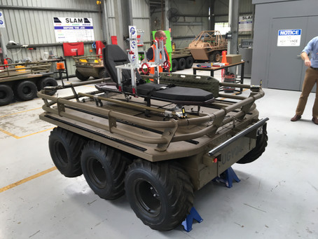 MCL awarded unmanned ground vehicle contract for MOD project