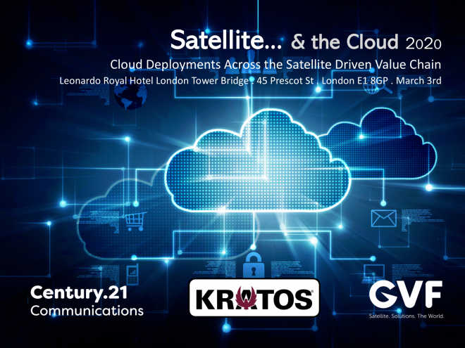 GVF and C21 announce preliminary London programme for satellite & the cloud