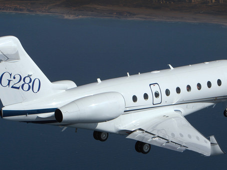 Viasat's 'no speed limit' Ka-band in-flight connectivity plans available on gulfstream G280 aircraft