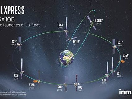 Inmarsat marks 5-years of Global Xpress with plans for major extension of world-leading network