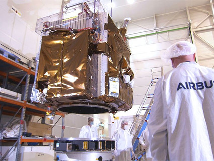 Processing begins with the Pléiades Neo 3 satellite for Arianespace's next Vega launch