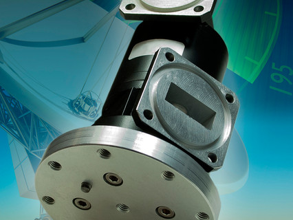 Link Microtek develops special microwave rotary joint for very-high-power satellite tracking system