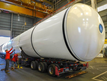 Northrop Grumman and NASA donate shuttle boosters to California Science Center