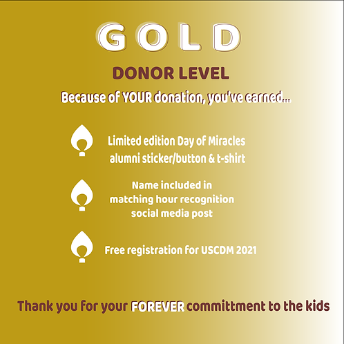 Gold Level Alumni Sponsor
