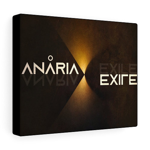 "Anaria ""Exile"" Album Art on Canvas"