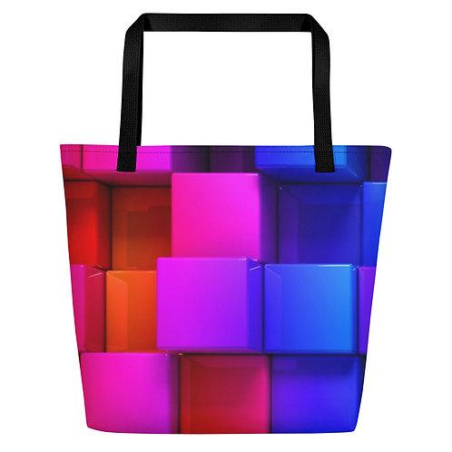 Color Blast Beach Bag