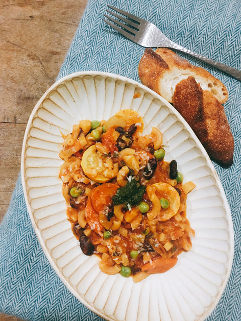 我愛義大利風味#2:幾乎沒有湯的蔬菜湯