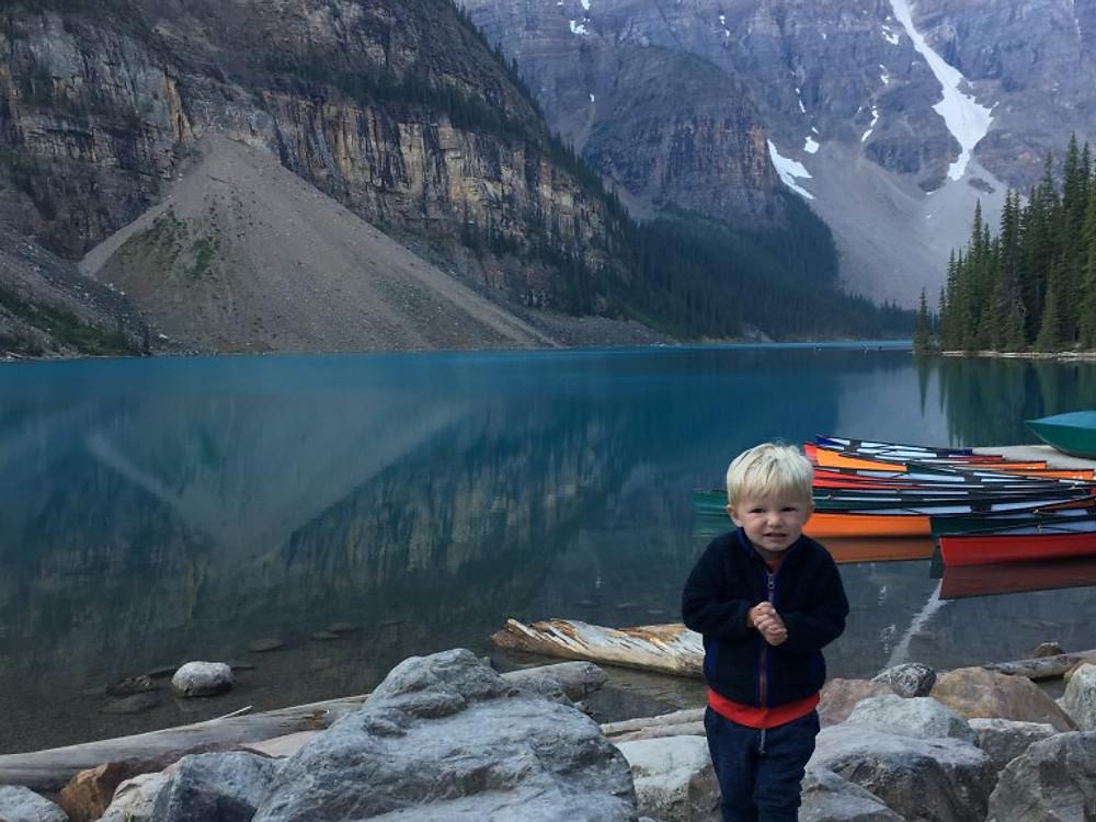 Moraine Lake- Anne with an 'e'