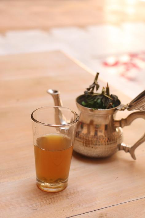鎮靜紓緩的北非薄荷茶