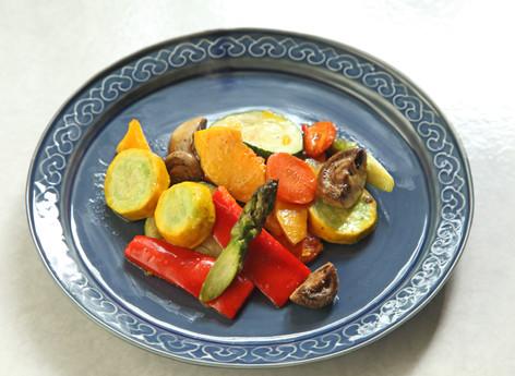烤箱食譜: 繽紛烤蔬菜