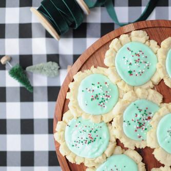 Chewy Christmas Sugar Cookies