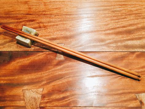 石垣島現場:神祕的筷子