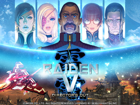 Raiden V: Director's Cut Releases Oct. 10th!