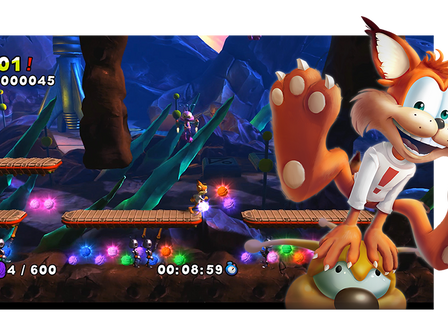 Bubsy is Back in the all new Bubsy: The Woolies Strike Back!