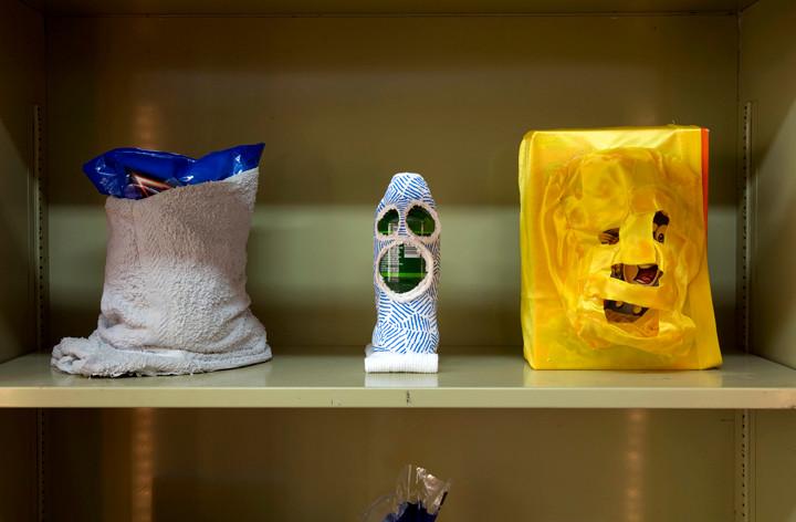 Mores McWreath - Cinnamon Toast Crunch Mask; Rice Cake Mask; Mac 'n' Cheese Mask, 2014