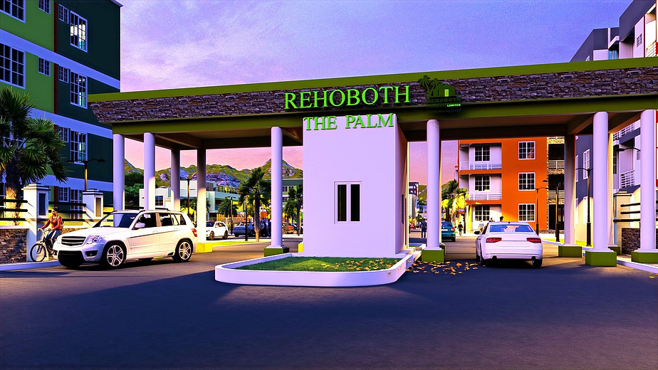 Rehoboth the palm entrance