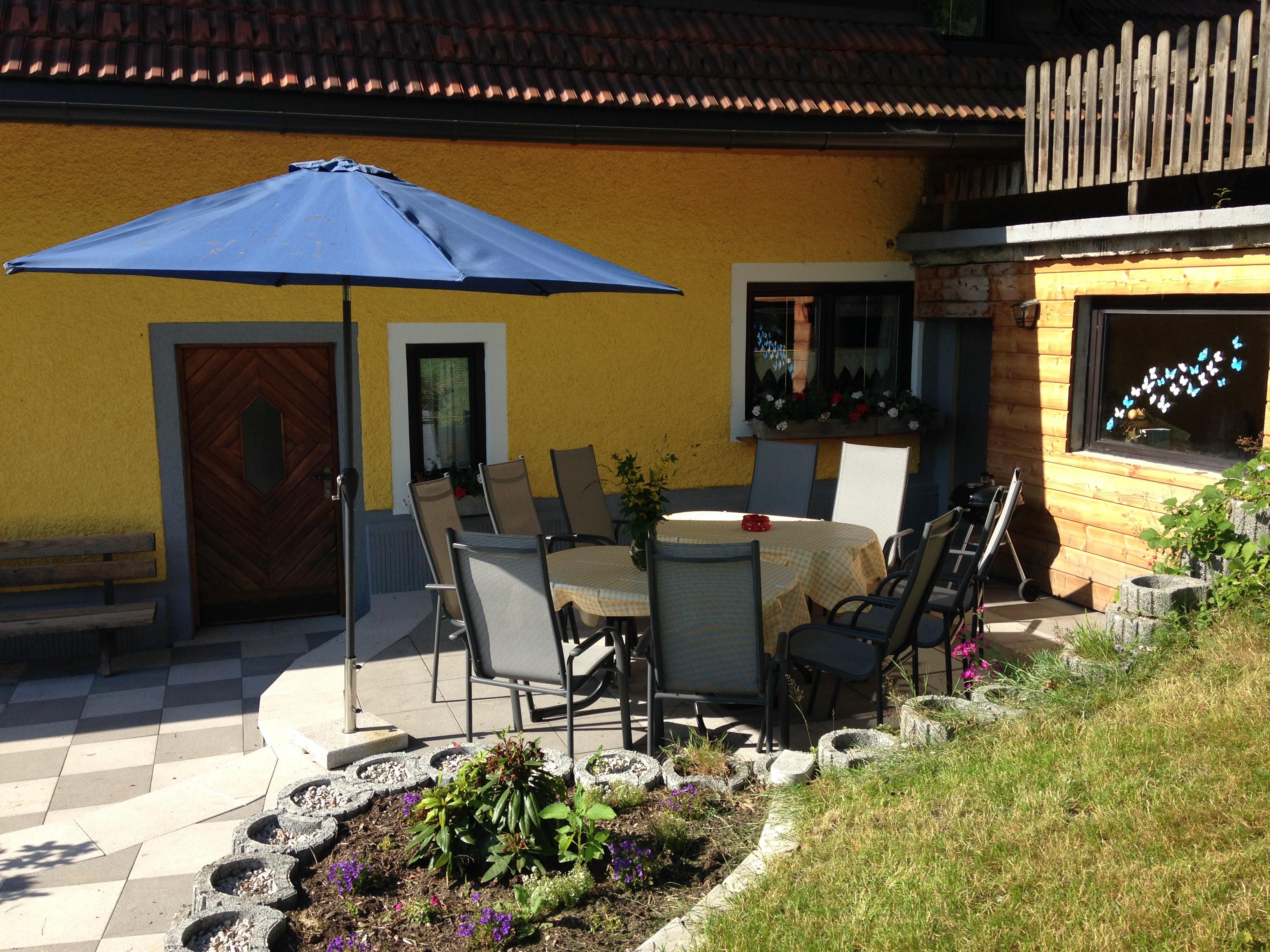 Sonnenterrasse Haus ARENA