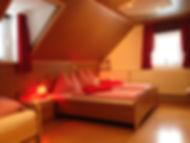 Das rote Familienzimmer