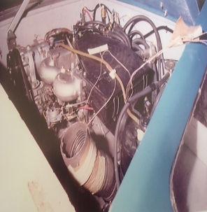 Engine Bay of Delorean Pilot 12. PJ Grady Europe