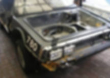 Underbody On VIN 780 PJ Grady Europe. Deloreans For Sale