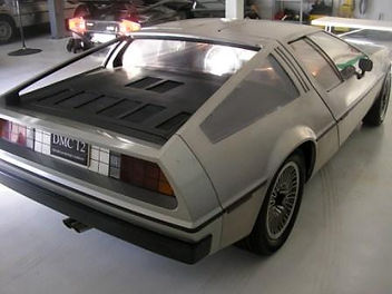 Chris Nicholson PJ Grady Europe Delorean
