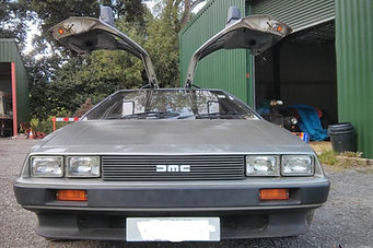 VIN 570 Exterior. PJ Grady Europe. Deloreans For Sale. Chris Nicholson.