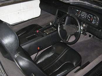 VIN 570 Interior PJ Grady Europe. Deloreans For Sale