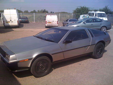 PJ Grady Europe UK Right Hand Drive Deloreans