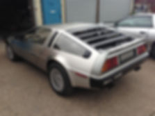Custom Right Hand Drive Delorean under construction