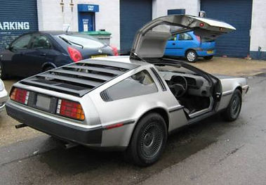 Finished Right Hand Drive VIN 780 PJ Grady Europe Deloreans For Sale